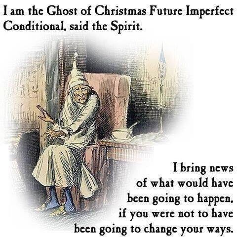 Language Log » The Ghost of Christmas Future Imperfect