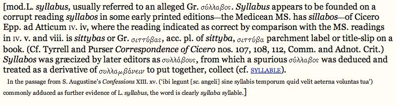 Language Log » What's the plural of syllabus?