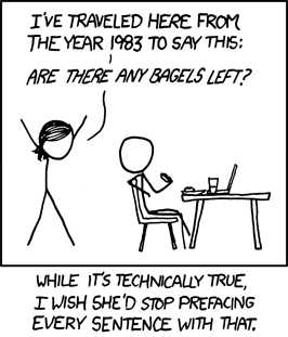Xkcd Time Travel