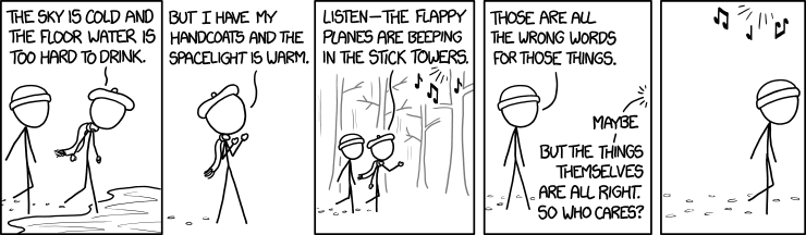 Language Log » A stick tower by any other name