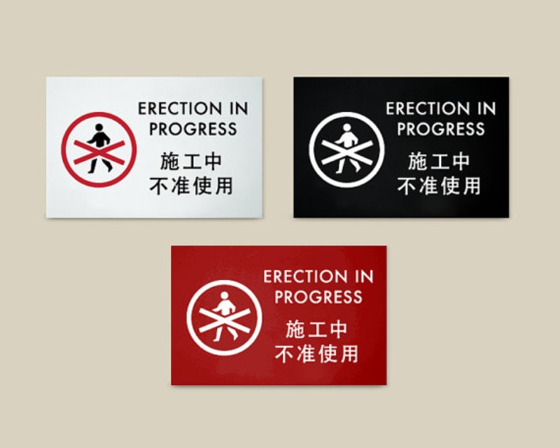 signs of erection