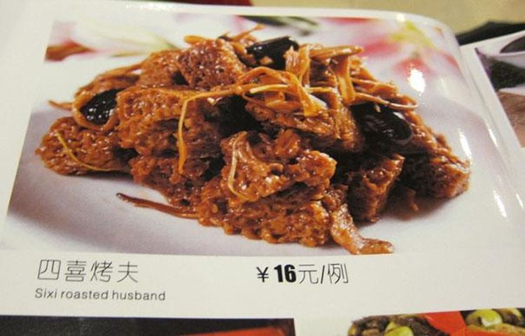 How about some delicious roasted husband, dear?
