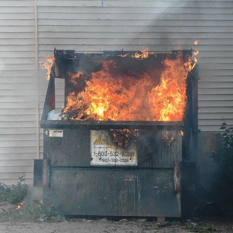 Language Log » Dumpster fire